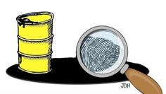 A impressão digital do petróleo