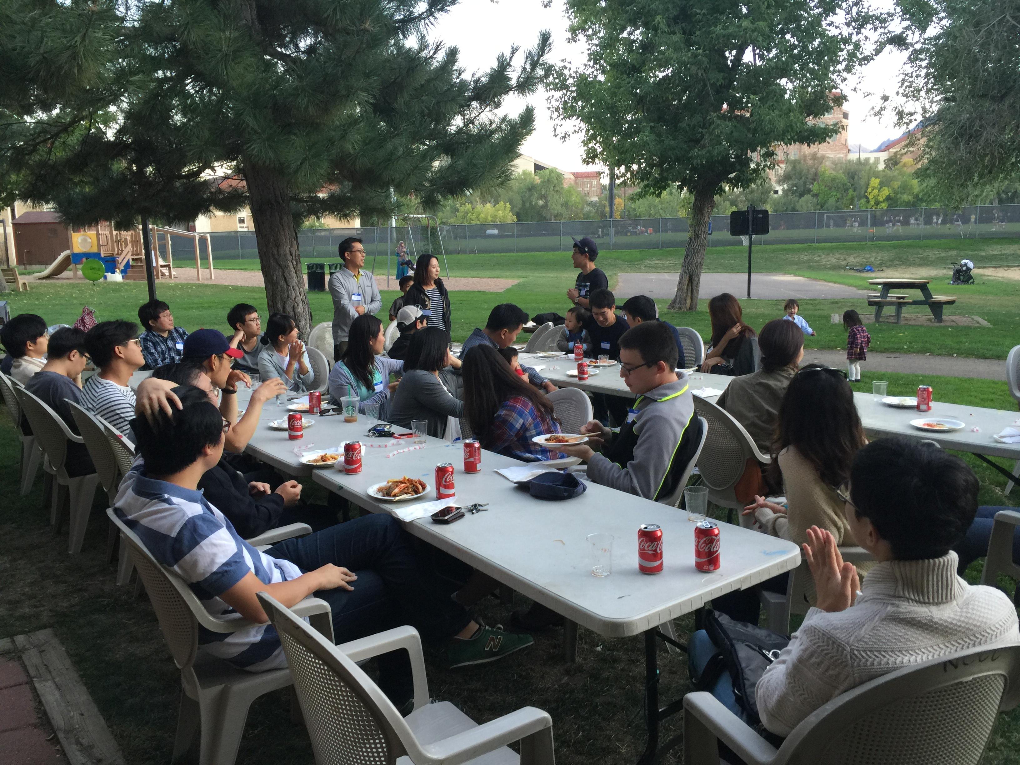 2016 볼더 한인학생회 모임 2