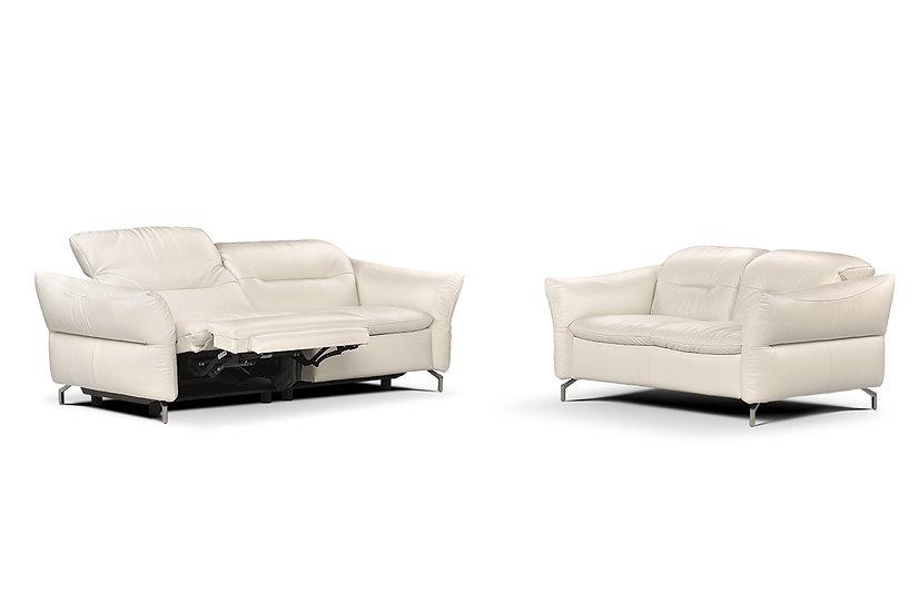 Scarlet: Italian Handmade Electric Recliner Sofa