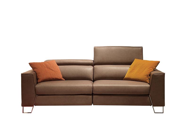 Pedro: Handmade Italian Recliner Sofa