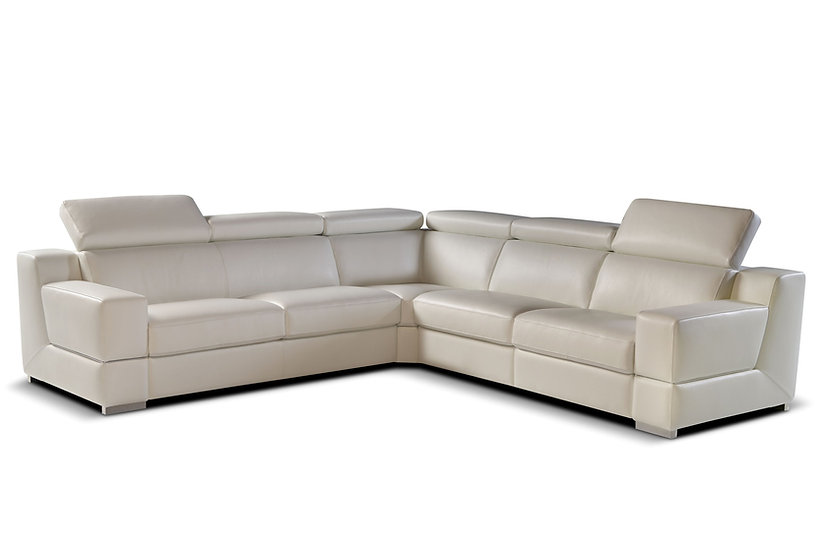 Robbie: Italian Handmade Electric Recliner Sofa