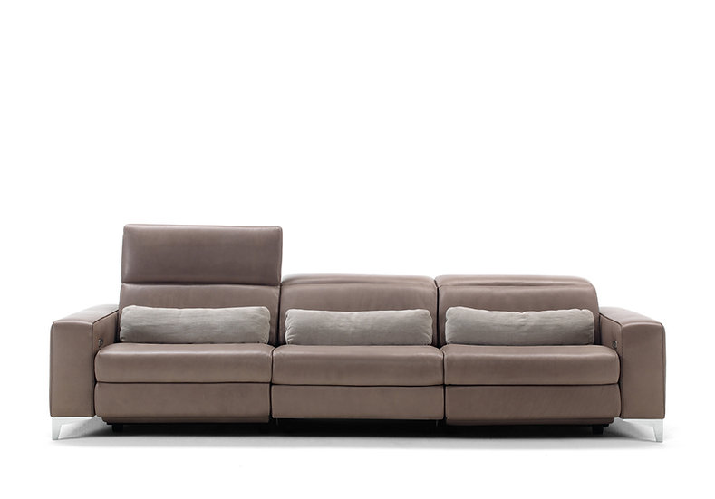 Melody: Handmade Italian Recliner Sofa