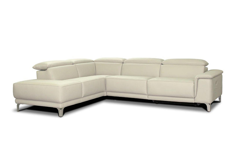 Adrian: Italian Handmade Electric Recliner Sofa