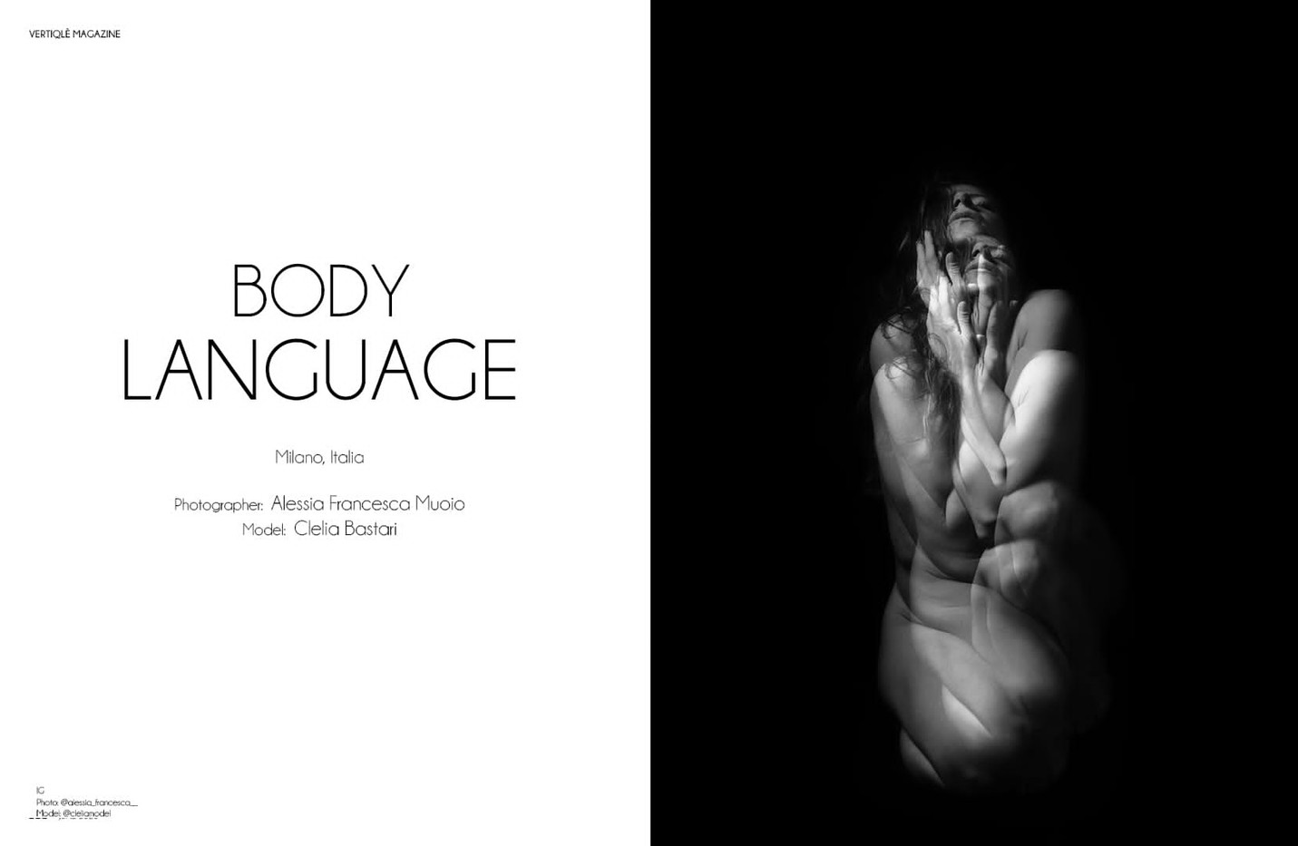 Body Language ( su Vertiqlè Mag)