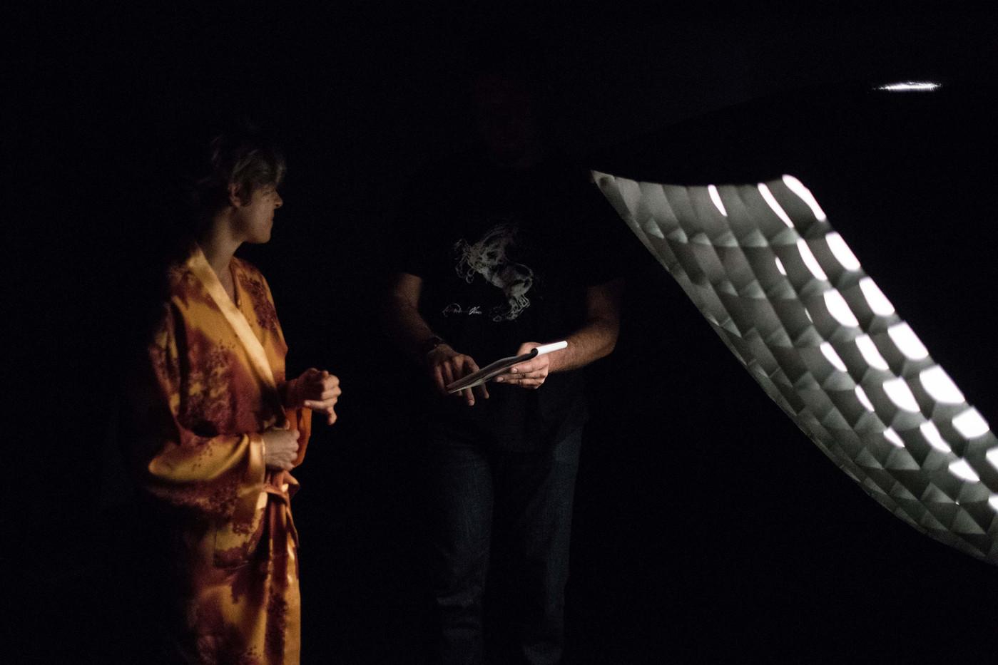 Livio Moiana backstage
