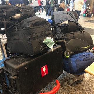 All the luggage