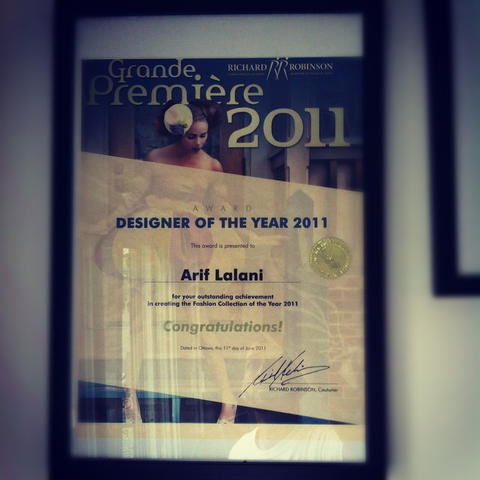 Designer of the Year Award 2011