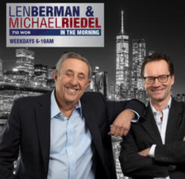 On the Air with Len Berman and Michael Riedel