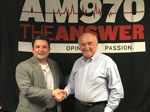 A Podcast with Frank Morano on AM 970