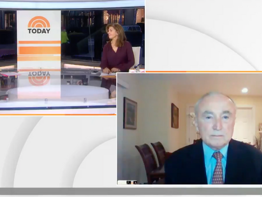 Speaking about Inauguration Security on the TODAY Show