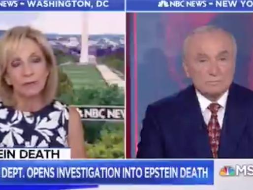 Jeffrey Epstein Death Questions