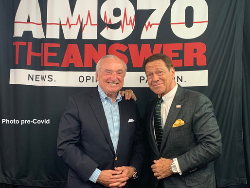 On the Air with Joe Piscopo about Storming of Capitol Building