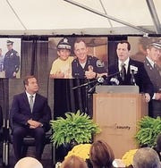 Building named in honor of former Camden County police chief Scott Thomson