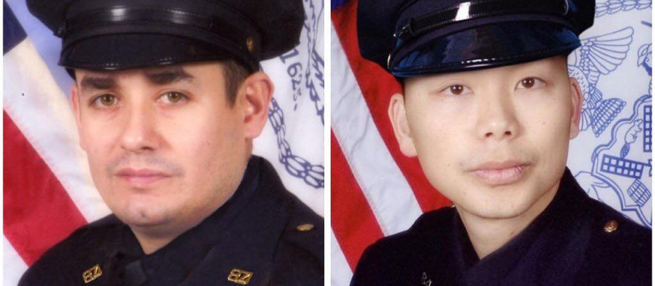 Four-year anniversary of the murders of NYPD Detectives Liu and Ramos