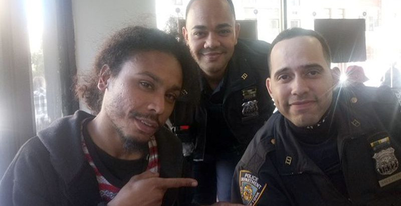 NYPD cops go beyond the call of duty to help Manhattan homeless man