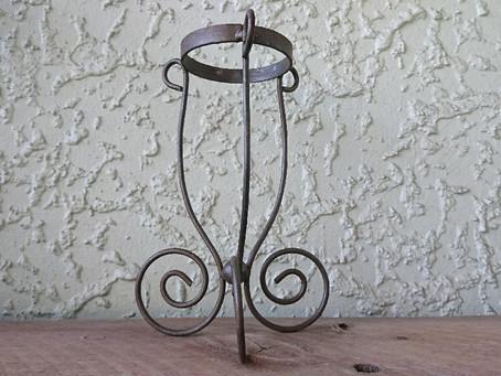 Iron flower vase(鉄製フラワーベース)