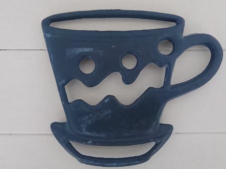 鉄製の鍋敷き