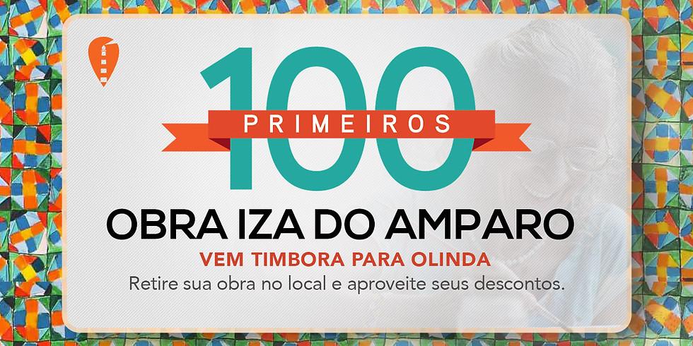 #os100primeiros visitantes!