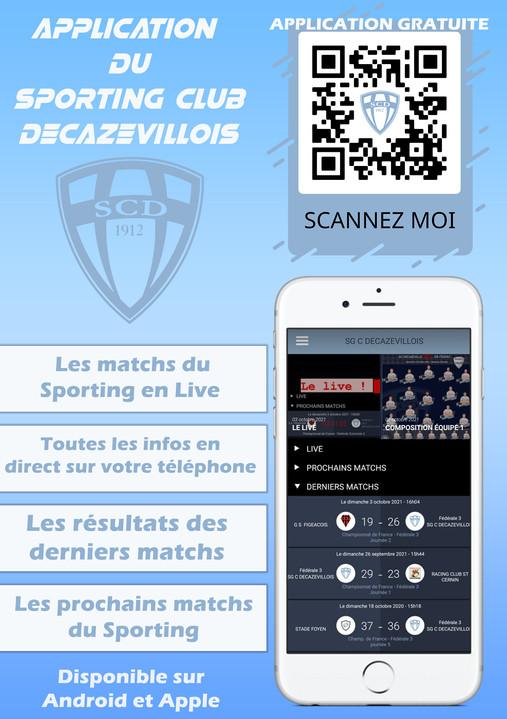 Application Officielle du Sporting !