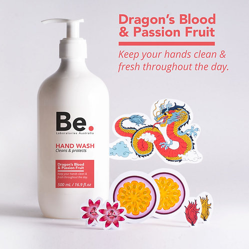 Hand Wash Dragon's Blood & Passion Fruit 500 ml