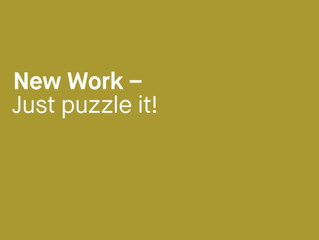 New Work - Just puzzle ist!