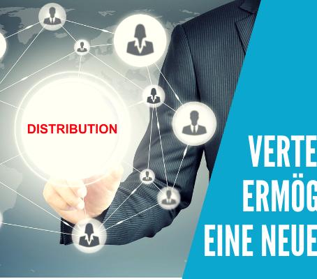 Verteilungs-Technologie ist die Grundlage für eine neue Wirtschaftsform.