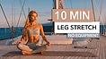 Pamela Reif Leg Stretch