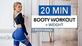 Pamela Reif Workout 20 min booty workout