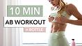 ab workout + bottle