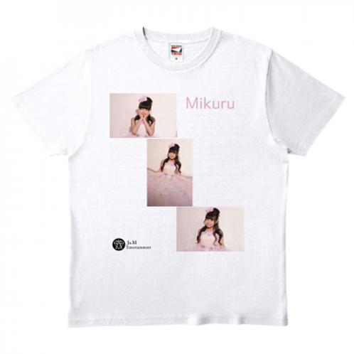 推しの写真ティシャツ