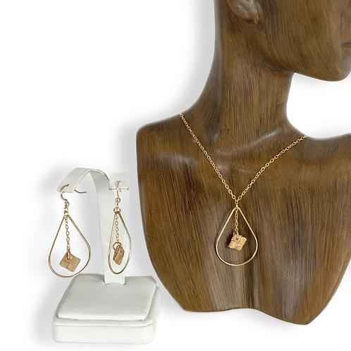 Ka ua hala earrings