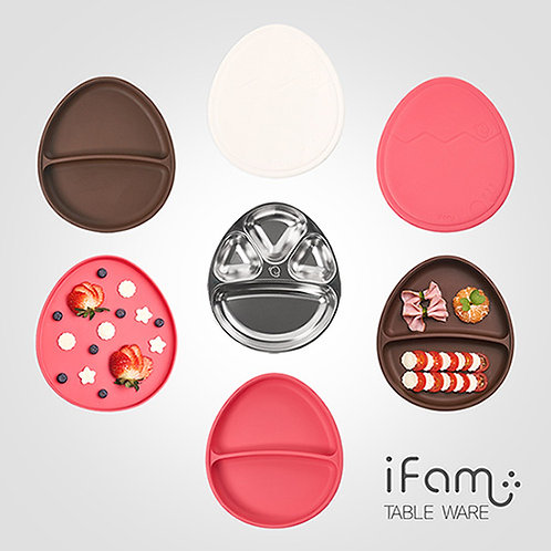iFam Egg 3 in 1 Silicone Tray