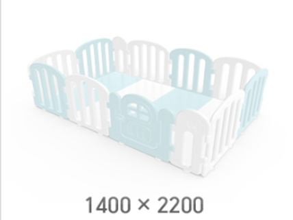 iFam First Baby Playpen for Your Playmat Size: 1.4 x 2.2m