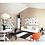 Thumbnail: Natural Babyroom Set - Playmat Color: Front-WHITE/BEIGE,Back-WHITE/BLACK