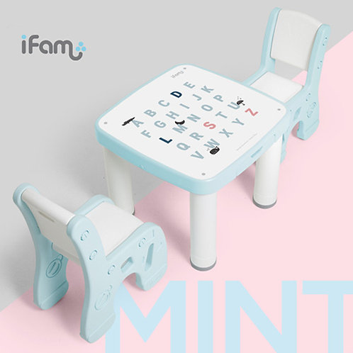 New Marshmallow Desk & Chair MINT