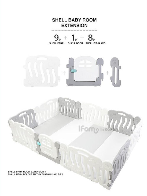 SHELL BABY PLAYPEN EXTENSION 237 x 141 cm