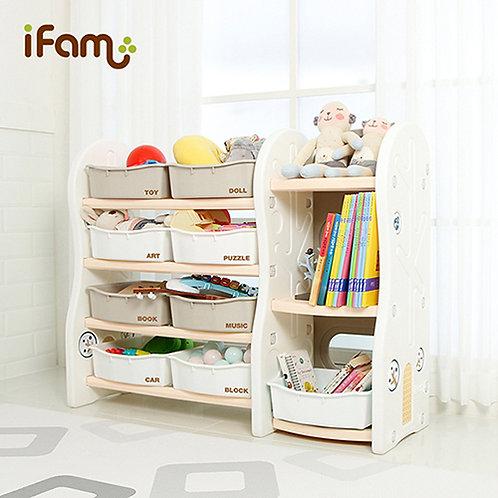 Design Toy Organiser Type 4 - Beige