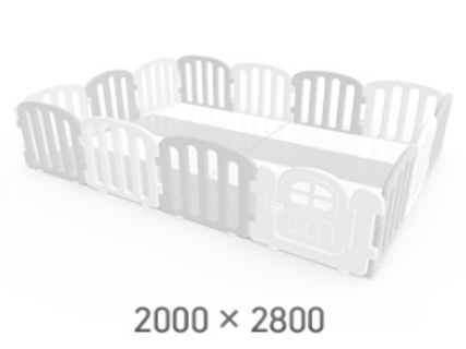 First Baby Playpen for Your Playmat Size: 2.0 x 2.8m