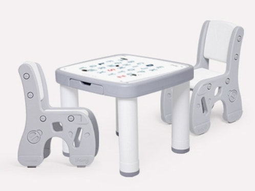 New Marshmallow Desk & Chair GRAY