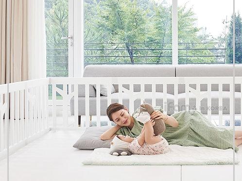 iFam Birch Babyroom Set: Playpen & Playmat