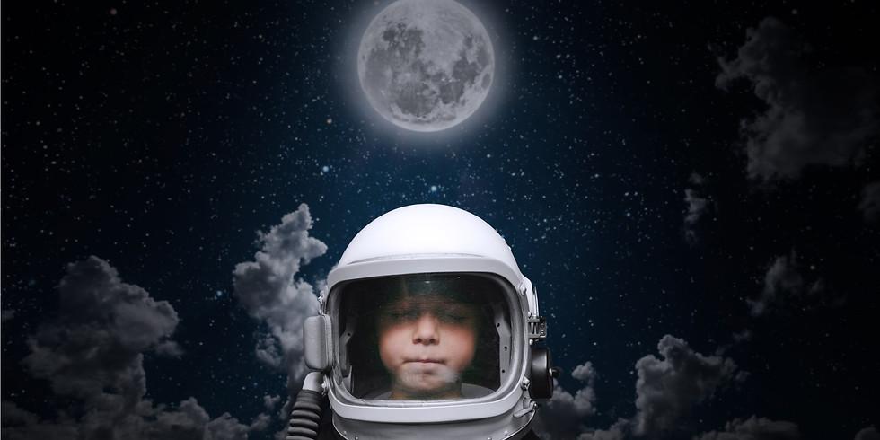 神秘的魔法月亮