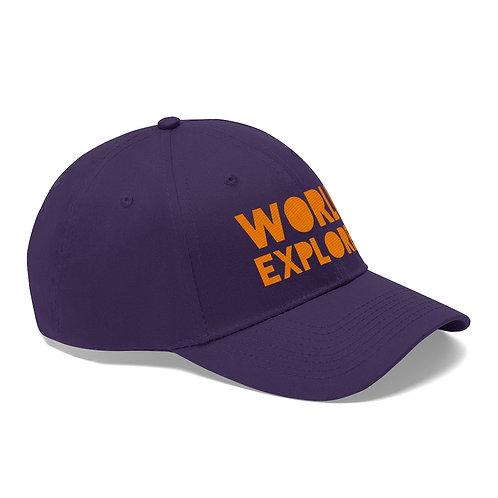 World Explorer Twill Hat