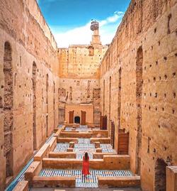 Palais El badi, Morocco