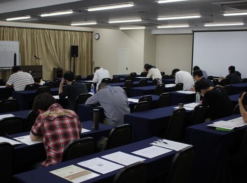 コロナ禍の為に延期していた第5回のCAMS認定検査を、去る6月28日(日)に新大阪で行いました