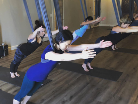 Aerial Yoga For Chronic Pain and Trauma Sufferers?