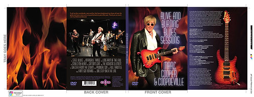 Alive & Burning DVD