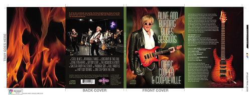 Alive & Burning Blues CD