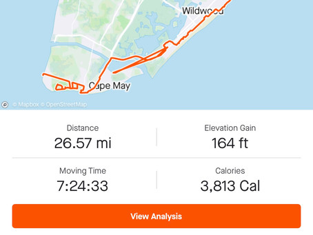 Walking 26.5 miles during a 9-5 work day #WalkNTalk