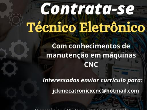 Vaga de Emprego para Técnico em Eletrônico