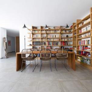 Agencement et création de mobilier, dans une villa contemporaine, Aix en Provence